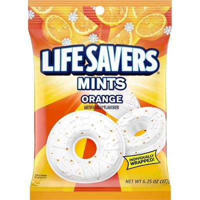 Life Savers Orange Mint Candies - 6.25oz