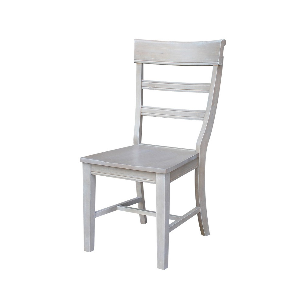 Hammerty Dining Chair Washed Gray Taupe (Set of 2) - International Concepts