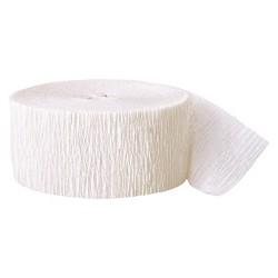 White Crepe Streamer - Spritz™