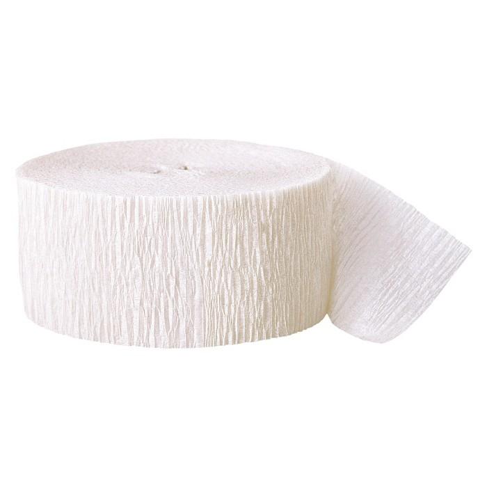 White Crepe Streamer - Spritz™ - image 1 of 1