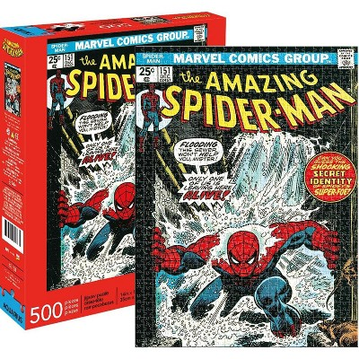 NMR Distribution Marvel Spider-Man #151 Comic Cover 500 Piece Jigsaw Puzzle