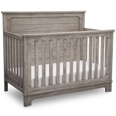 Simmons Kids Slumbertime Monterey 4-in-1 Convertible Crib - Rustic White