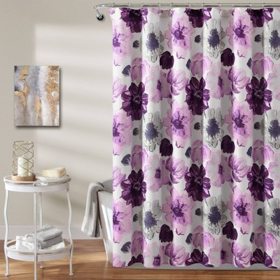 Leah Shower Curtain - Lush Décor