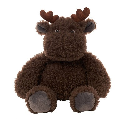 The Manhattan Toy Company Curly Q's Stuffed Animal Moose