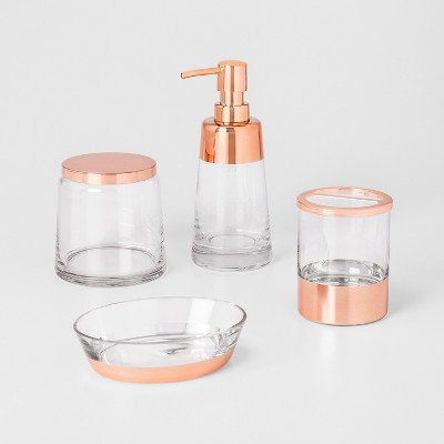 modern rose gold bathroom accessories project 62 - Gold Bathroom Accessories