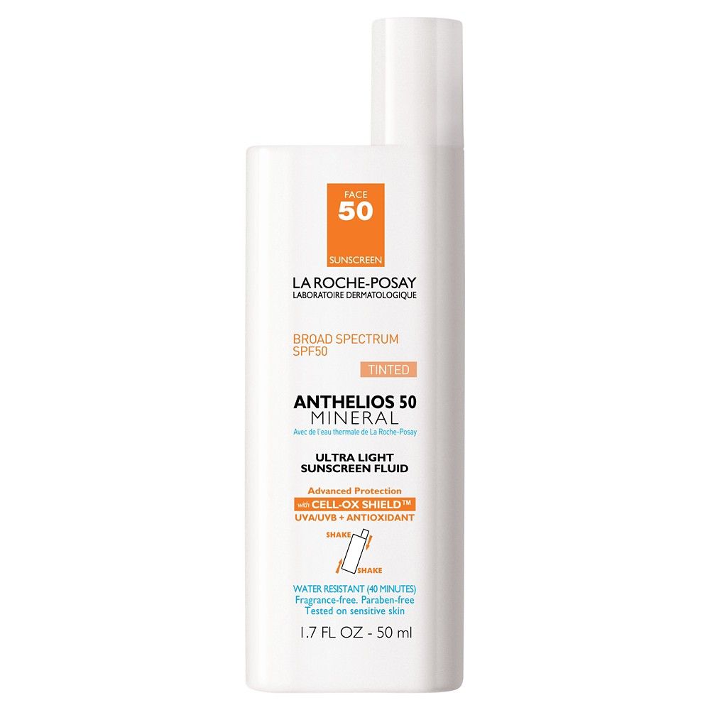 Image of La Roche Posay Anthelios 50 Mineral Ultra Light Face Sunscreen - SPF 50 - 1.7 fl oz