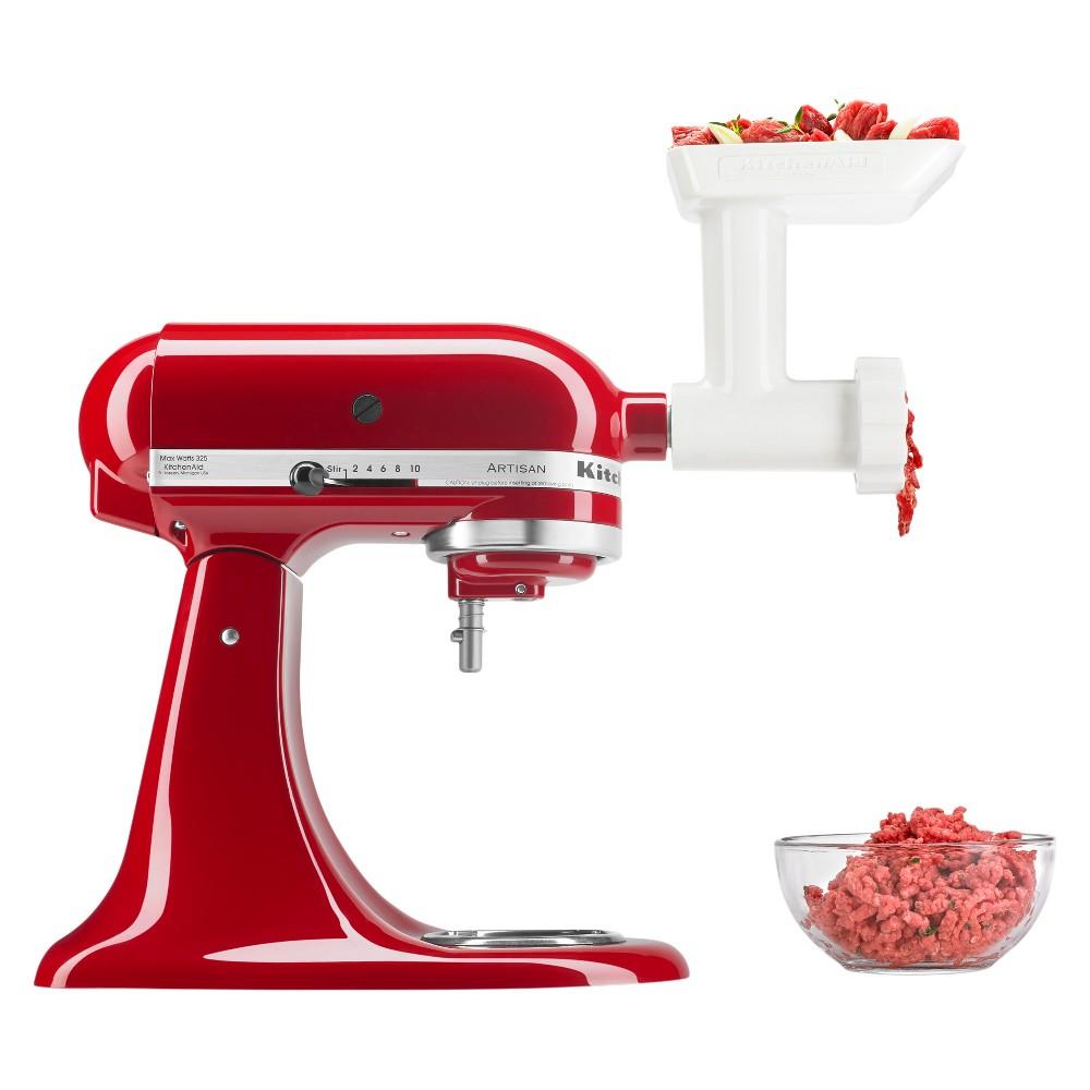 KitchenAid Refurbished Stand Mixer Attachment Food Grinder White - RRFGA
