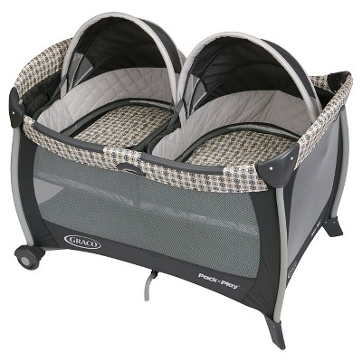 Graco® Pack 'n Play Playard with Twins Bassinet - Vance