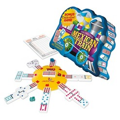 Puremco Mexican Train Double 12 Dot Dominoes Game
