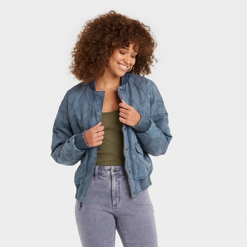 Women's Quilted Utility Jacket - Universal Thread™ - image 1 of 3