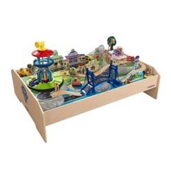 KidKraft 18021 Paw Patrol Plywood Interactive Adventure Play Bay Table, 70 Piece
