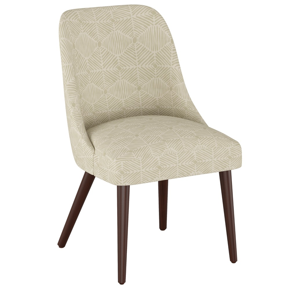 Geller Modern Dining Chair Painted Diamond Neutral - Project 62