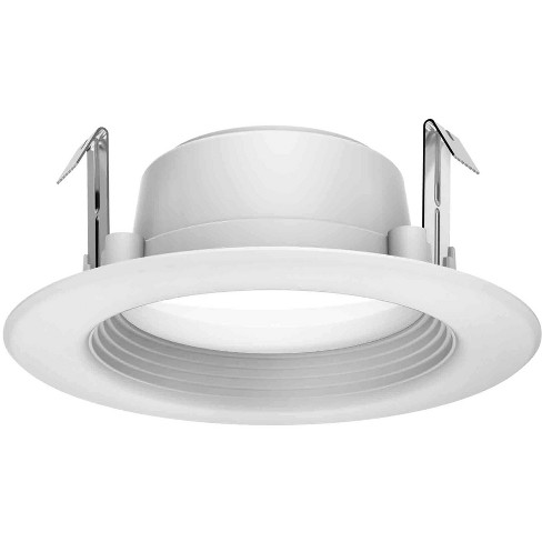 """Satco Lighting S29713 2700K LED Integrated Recessed Fixture 4"""" Baffle Recessed Trim - image 1 of 1"""