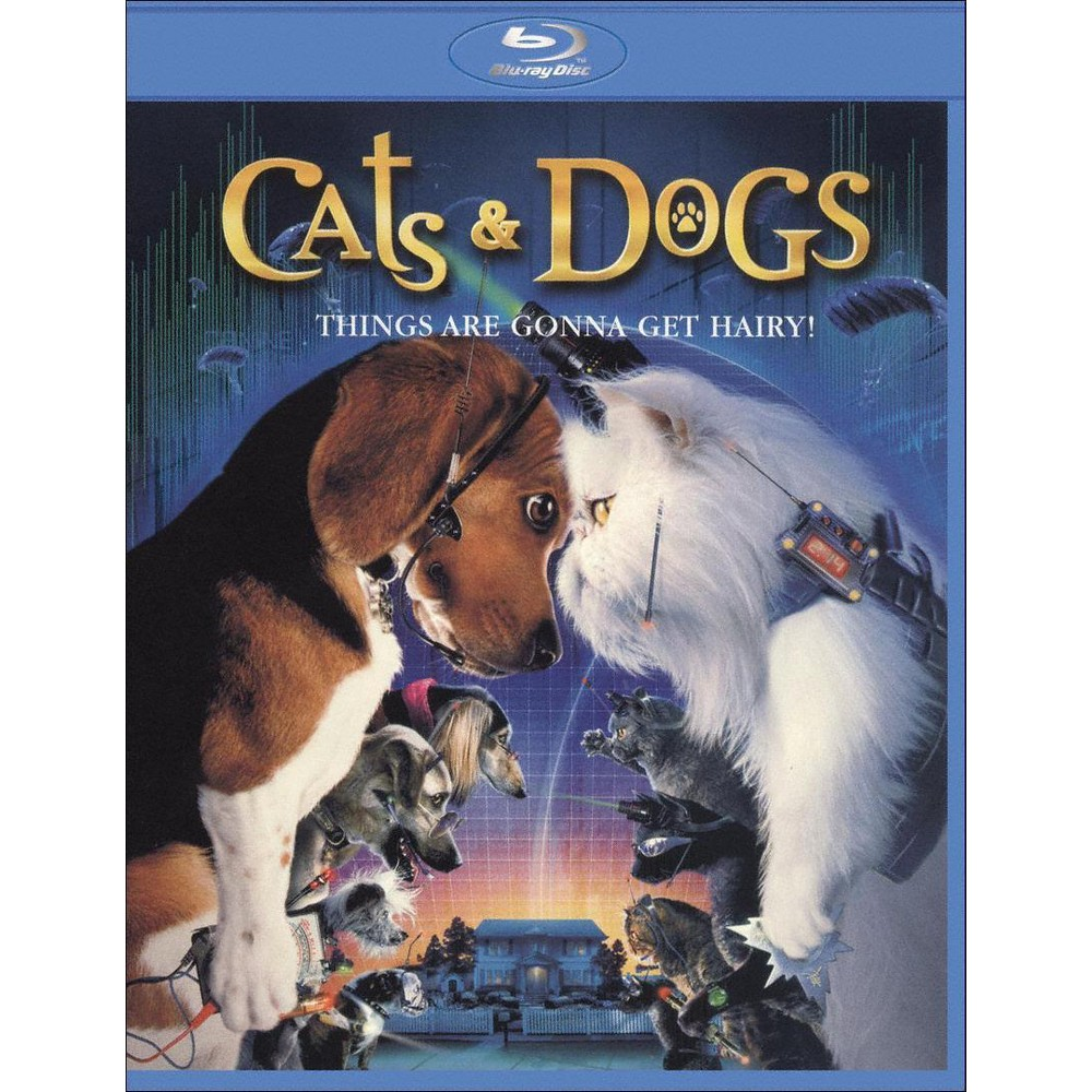 Cats & Dogs (With Movie Cash) (Blu-ray)
