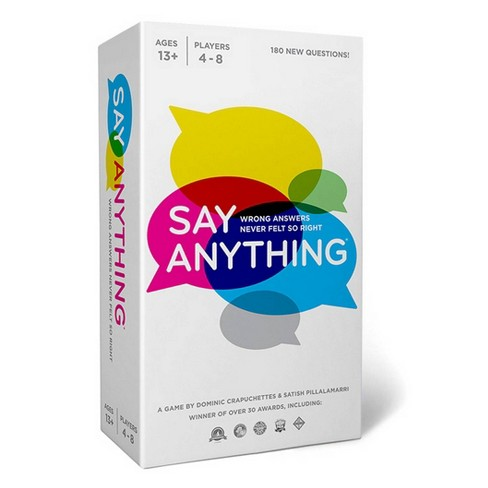 Say Anything 10th Anniversary Board Game - image 1 of 4