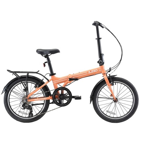 "ZiZZO Forte Duty 7-Speed 20"" Folding Bike - Coral - image 1 of 4"
