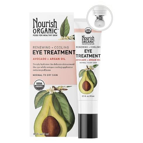 Nourish Organic Renewing Avocado & Argan Eye Cream - 0.5oz - image 1 of 1