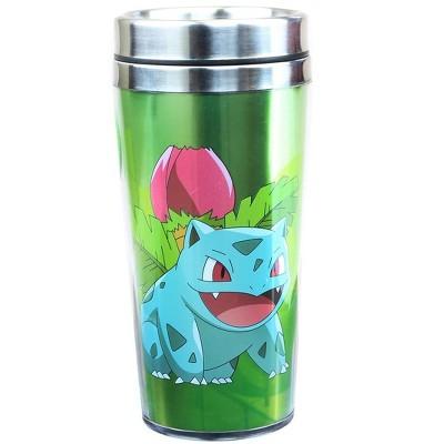 Just Funky Pokemon Ivysaur 16oz Travel Mug