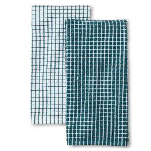 Turquoise Nbspstripe Nbspkitchen Towel Nbsp Room Essentials Target