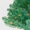 3ft Pre-lit Shiny Green Tinsel Iridescent Alberta Spruce Multicolor Lights - Wondershop™ - image 2 of 2