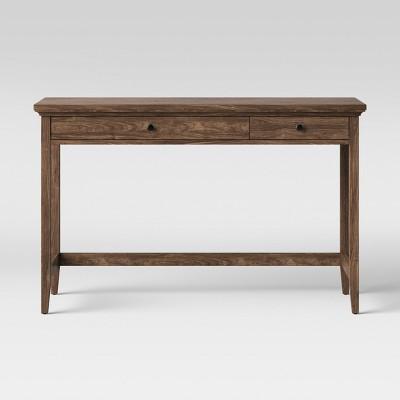 Carson Writing Desk Walnut Brown - Threshold™
