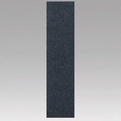 "9""x36"" 16pk High Low Planks Self Stick Carpet Tiles - Foss floors"