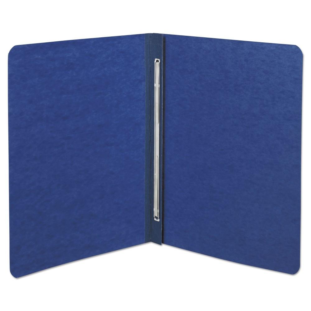Acco Pressboard Report Cover, Prong Clip, Letter, 3 Capacity, Dark Blue