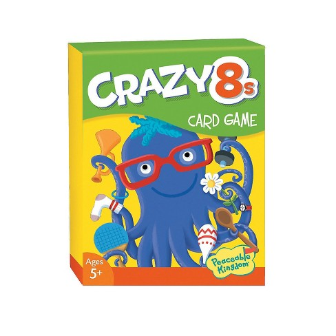 MindWare Crazy 8's Card Game - Books and Music - 48 Pieces - image 1 of 2