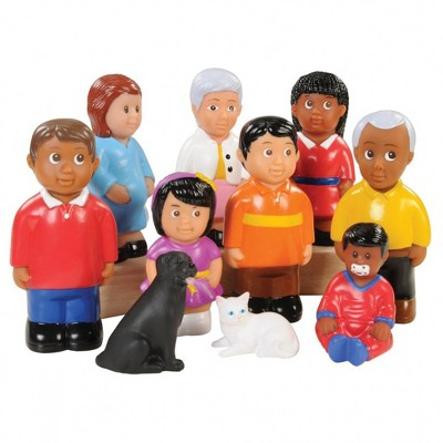 "Kaplan Early Learning Friends and Family 5"" High Pretend Play - Set of 10"