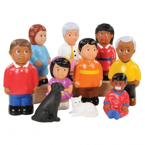 "Kaplan Early Learning Friends and Family 5"" High Pretend Play - Set of 10 - image 1 of 4"