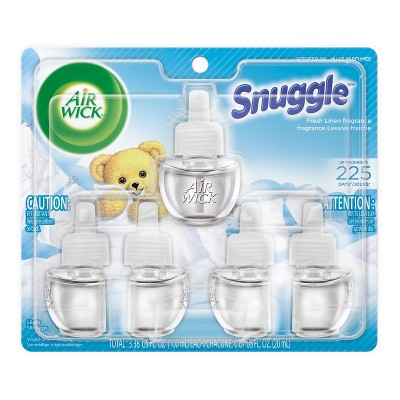 Air Wick Scented Oil Refills-Snuggle Fresh Linen 5ct