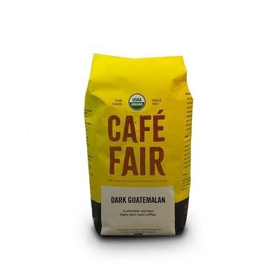Café Fair Dark Guatemalan Dark Roast Ground Coffee - 10oz