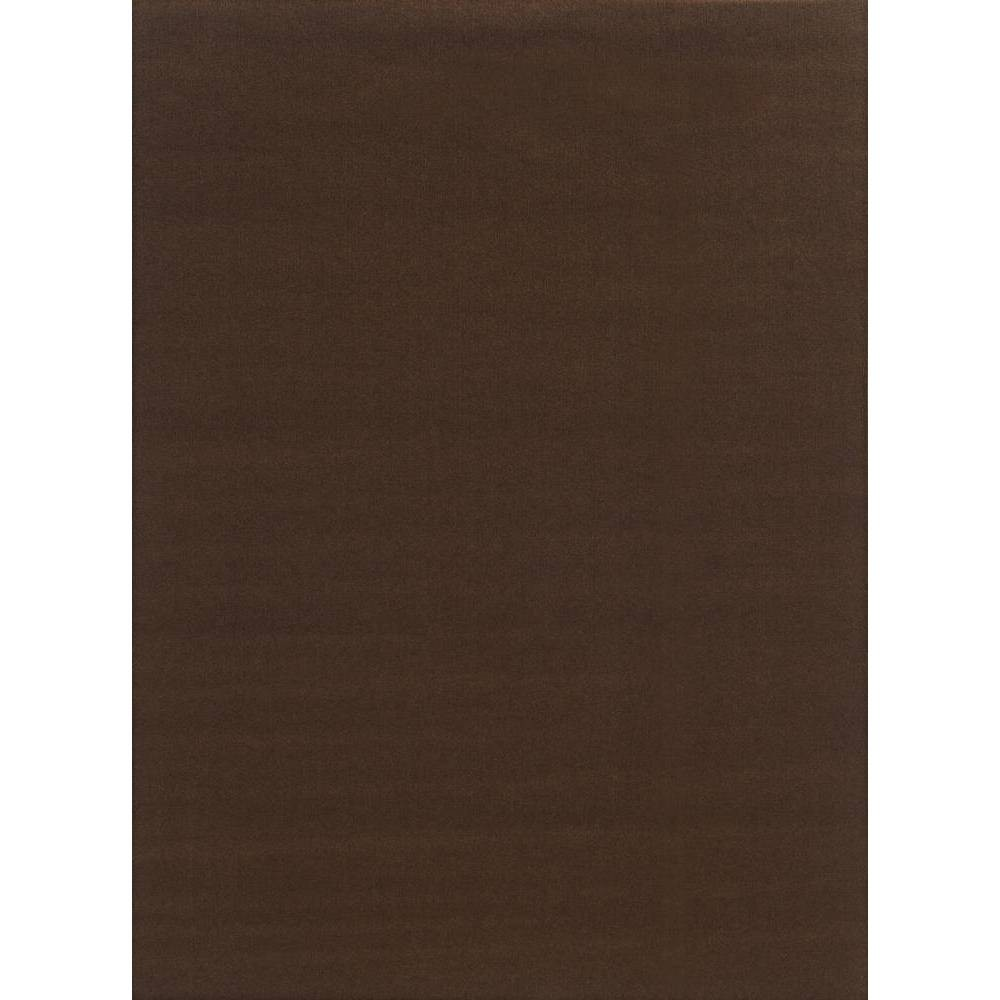 Image of 6' x 8' Rib Indoor/Outdoor Rug Chocolate (Brown) - Foss Floors
