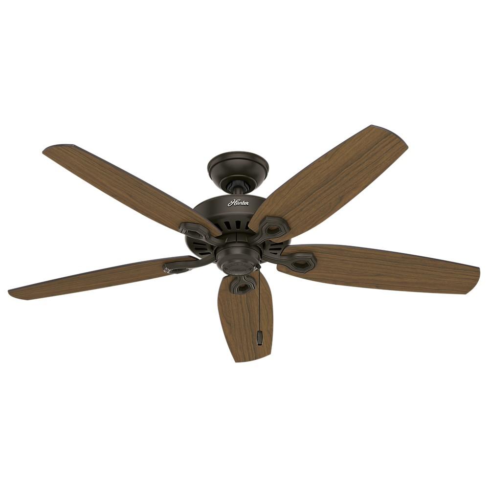 """Image of """"52"""""""" Builder Elite Damp Ceiling Fan Bronze - Hunter Fan"""""""