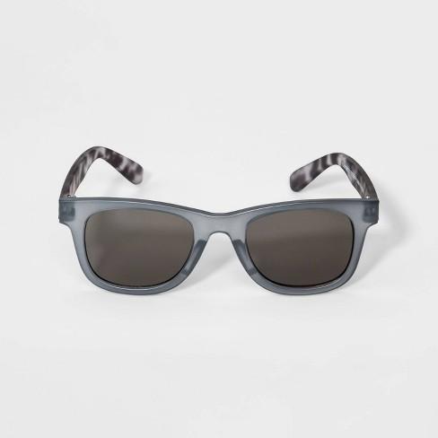 Toddler Boys' Tortoise Shell Sunglasses - Cat & Jack™ Gray - image 1 of 1
