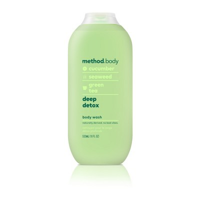 Method Body Wash Deep Detox - 18 fl oz