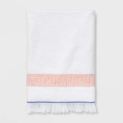 6644017f608d Cream Stripe Hand Towel – Threshold™ – Target Inventory Checker ...