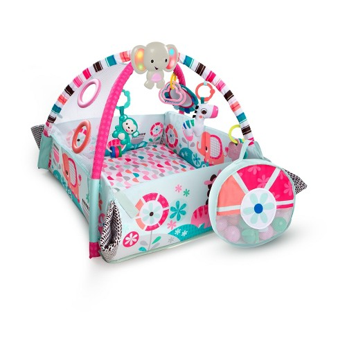 Bright Starts 5-in-1 Your Way Ball Play Activity Gym - Pink - image 1 of 4