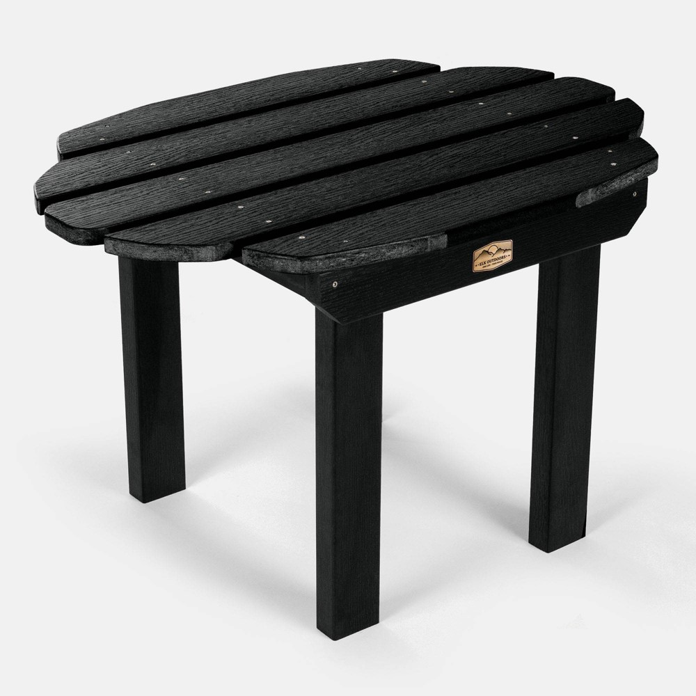 Mountain Bluff Essential Patio Side Table - Black - Elk Outdoors