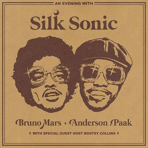 Silk Sonic (Bruno Mars & Anderson Paak) - An Evening with Silk Sonic (CD) - image 1 of 1