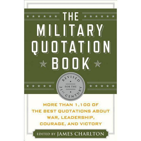 The Military Quotation Book - 3 Edition (Hardcover) - image 1 of 1