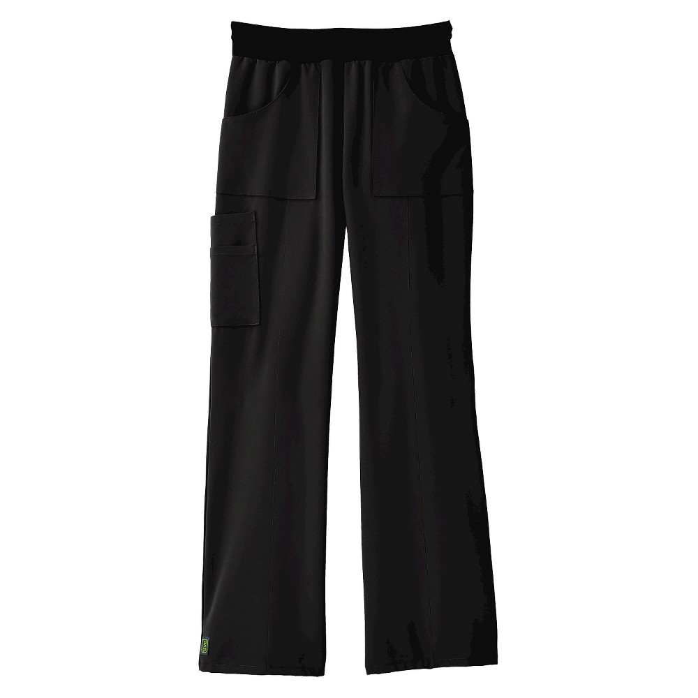 Image of Berkeley Female Scrub Pants Ave XS Black, Women's