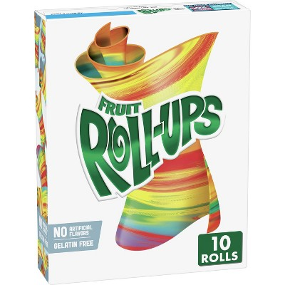 Betty Crocker Fruit Roll-Ups Tropical Tie-Dye Snacks - 10ct