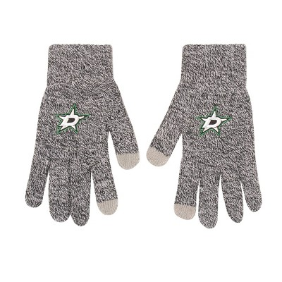 NHL Dallas Stars Knit Gloves - Gray
