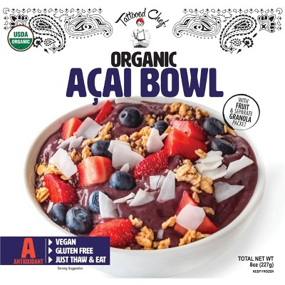 Tattooed Chef Frozen Acai Bowl - 8oz