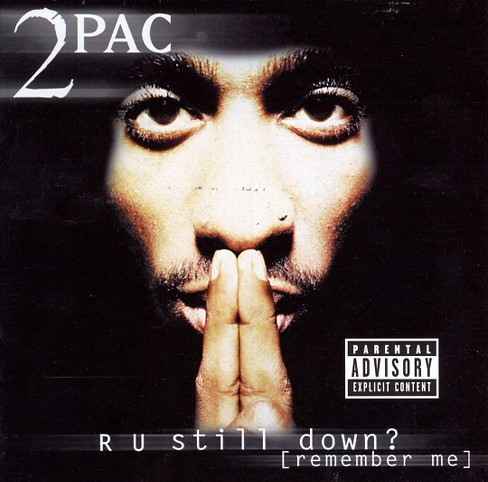 Tupac shakur - R u still down:Remember me [Explicit Lyrics] (CD) - image 1 of 3