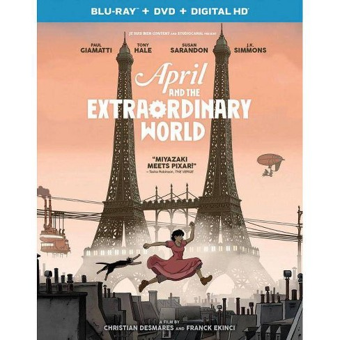 April and the Extraordinary World (Blu-ray) - image 1 of 1