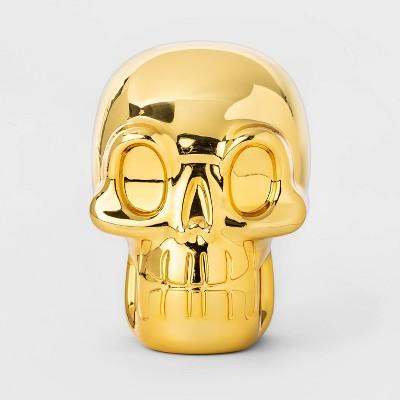 "5"" Scavenger Hunt Golden Skull Halloween Accessory - Hyde & EEK! Boutique™"