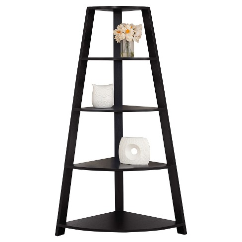 """Bookcase with Corner tagère 70"""" - EveryRoom® - image 1 of 2"""