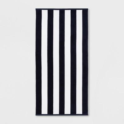 XL Reversible Cabana Stripe Beach Towel - Sun Squad™